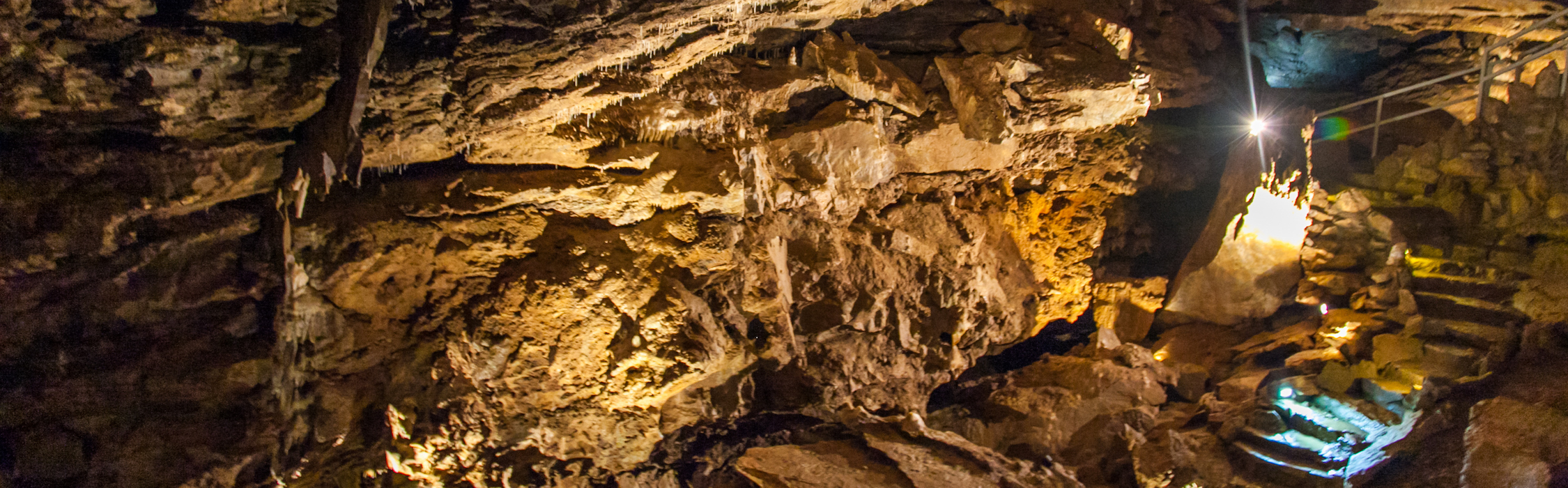 The strange cave formations of Oregon Caves National Monument in Oregon - June 2010