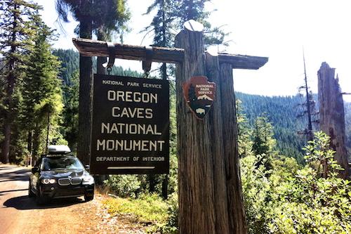 Oregon Caves Sign