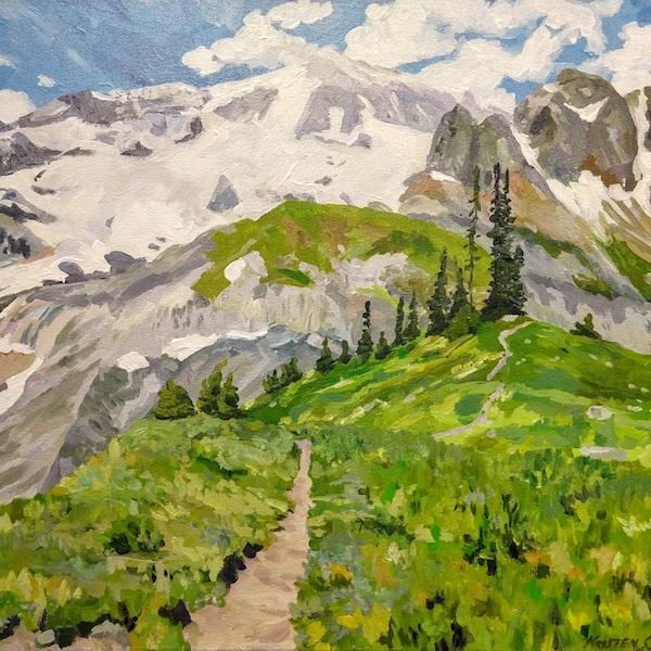 Gallery One - Kristen O'Neill Wonderland Trail No 1