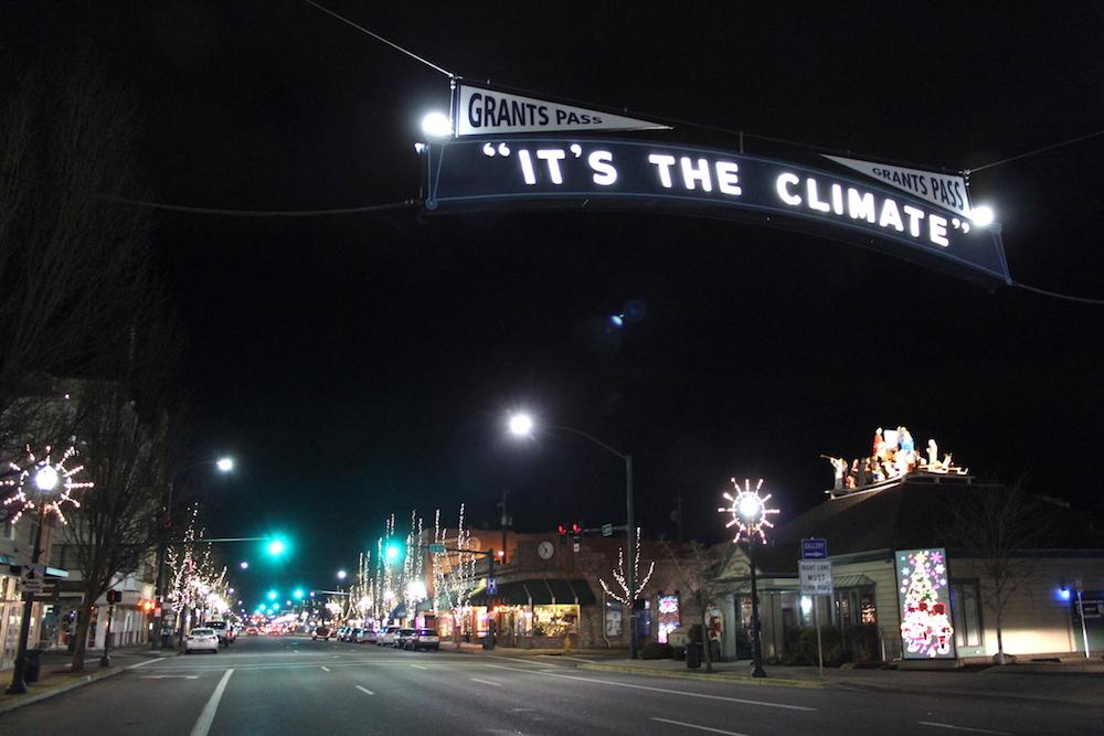 Downtown Christmas Shop Local
