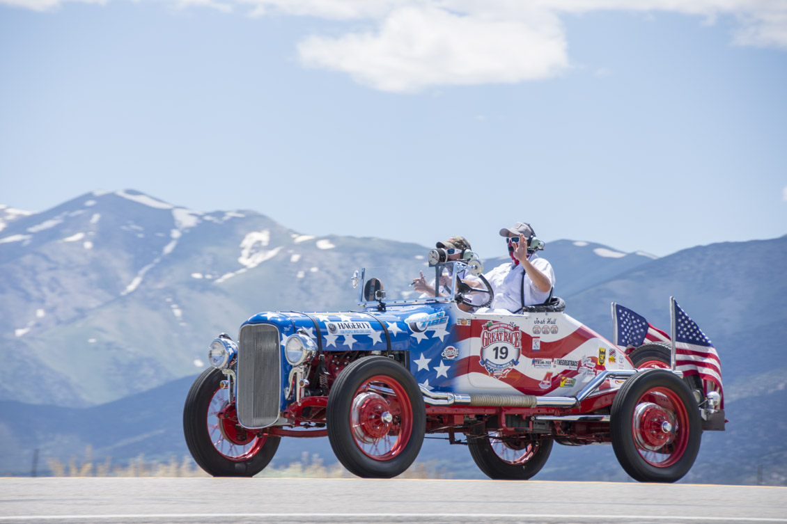 1932 Ford Dirt Track Racer of Trevor Stahl and Josh Hull in Wyoming