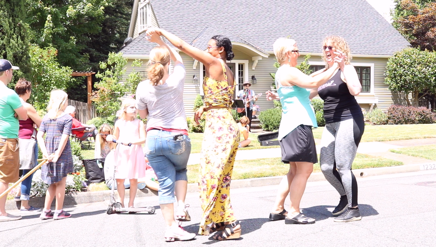 Porchfest Grants Pass - Dance 2