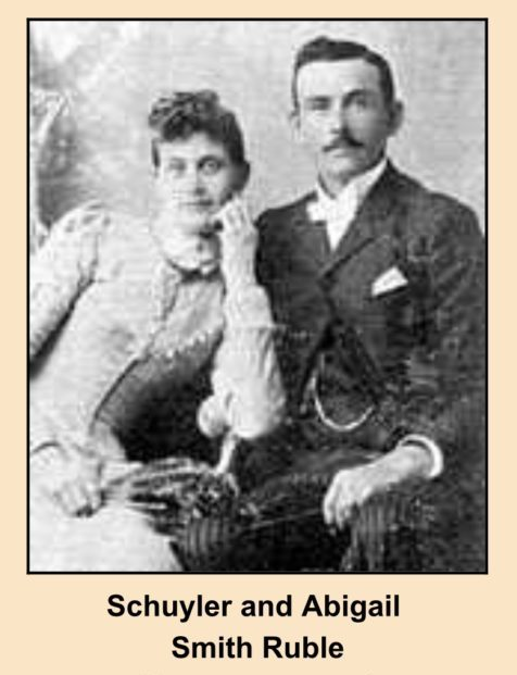 Schuyler and Abigail Ruble, Photo Courtesy of Larry L. McLane