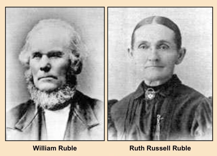William and Ruth Ruble, Photo Courtesy of Larry L. McLane