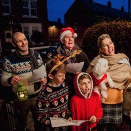 The Emporium Christmas Caroling