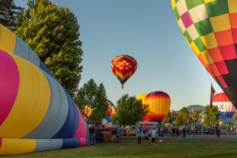 Ballooon Festival Hot Air Balloons