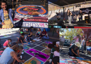 Chalk Art Street Painting & Music Festival