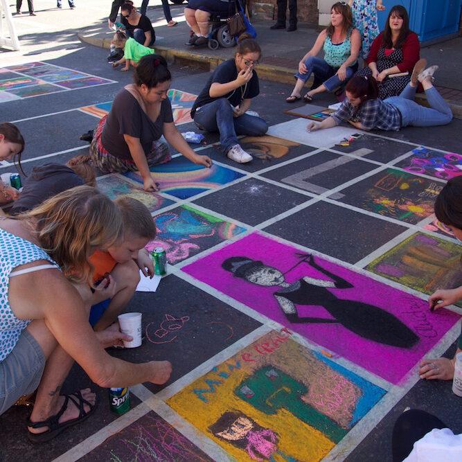 AATR Small Chalk Squares